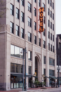 Ace Hotel has two bars, plus in-room minibar service thanks to permitting help from Webre Consulting